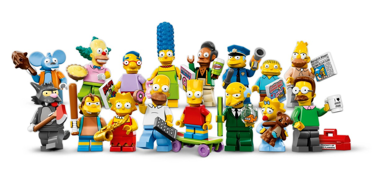 lego minifigures trailer simpsons