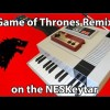 8Bit Game Of Thrones On A DIY NES-Keytar (Video)