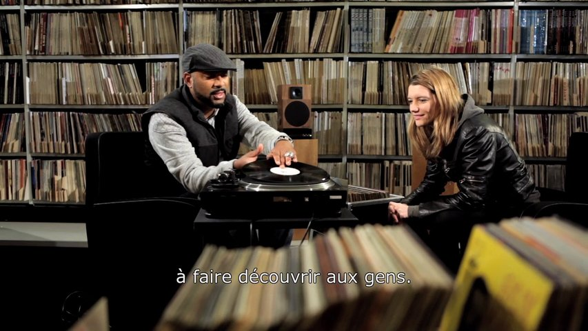Madlib Diggin' Through Radio France's Record Library (Video)