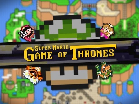 Game Of Thrones Meets Super Mario World (Video)
