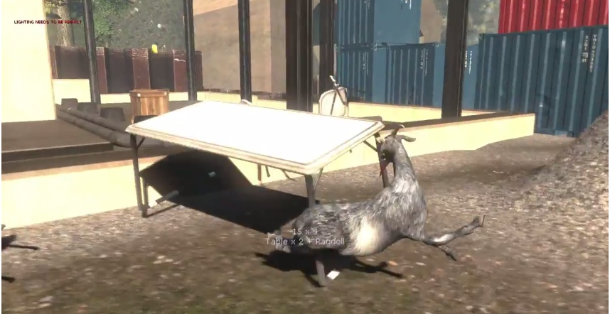 GOAT – Check Out This Totally Real Gameplay Video Of The Goat Simulator