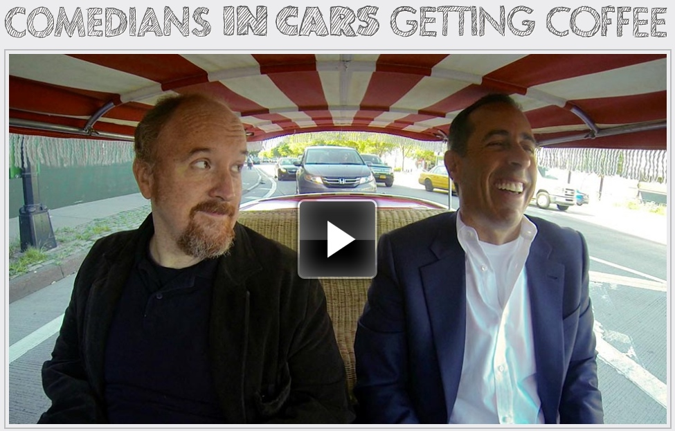 Jerry Seinfeld's Comedians in Cars Getting Coffee with Louis C.K.