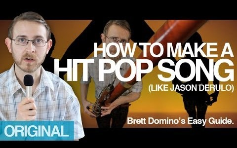 How To Make A Hit Pop Song, Pt. 1 & Pt. 2 With Brett Domino (Video)