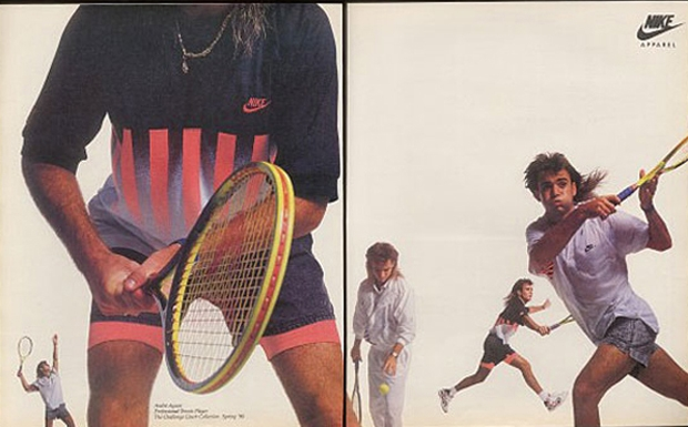 Andre Agassi And The Nike Air Tech