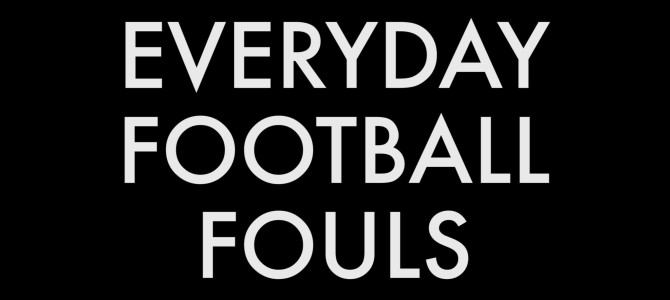 Slow Motion Video Replays Of Everyday Football Fouls