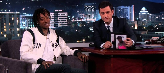 Wiz Khalifa Plays Dem Boyz Or Not Dem Boyz On Jimmy Kimmel
