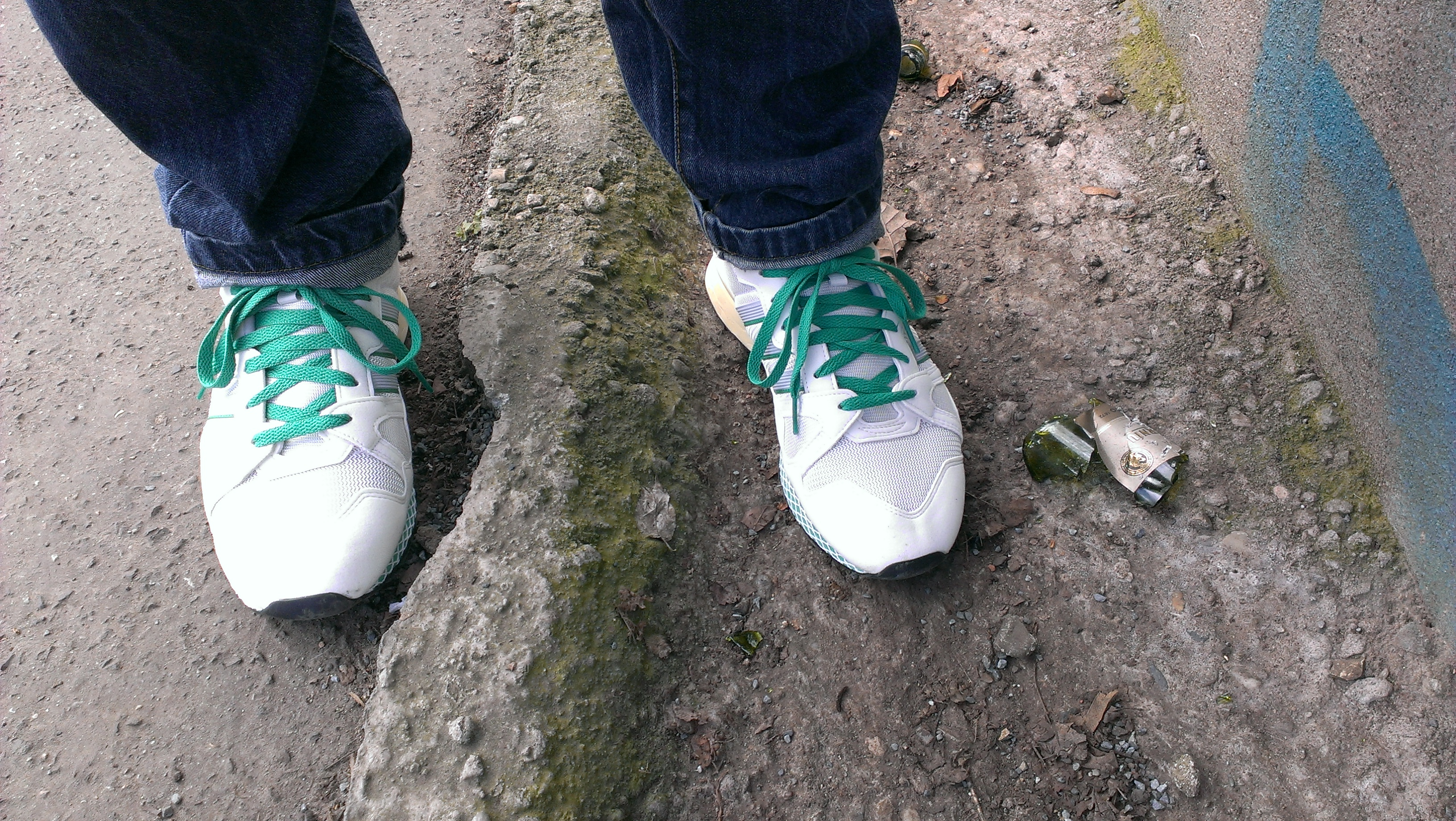 Adidas Originals ZX 710 Retro OG Fresh Green On Feet Pics