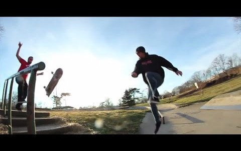 WTF?! Skateboarding Saturday: 2 Dudes 1 360 Flip